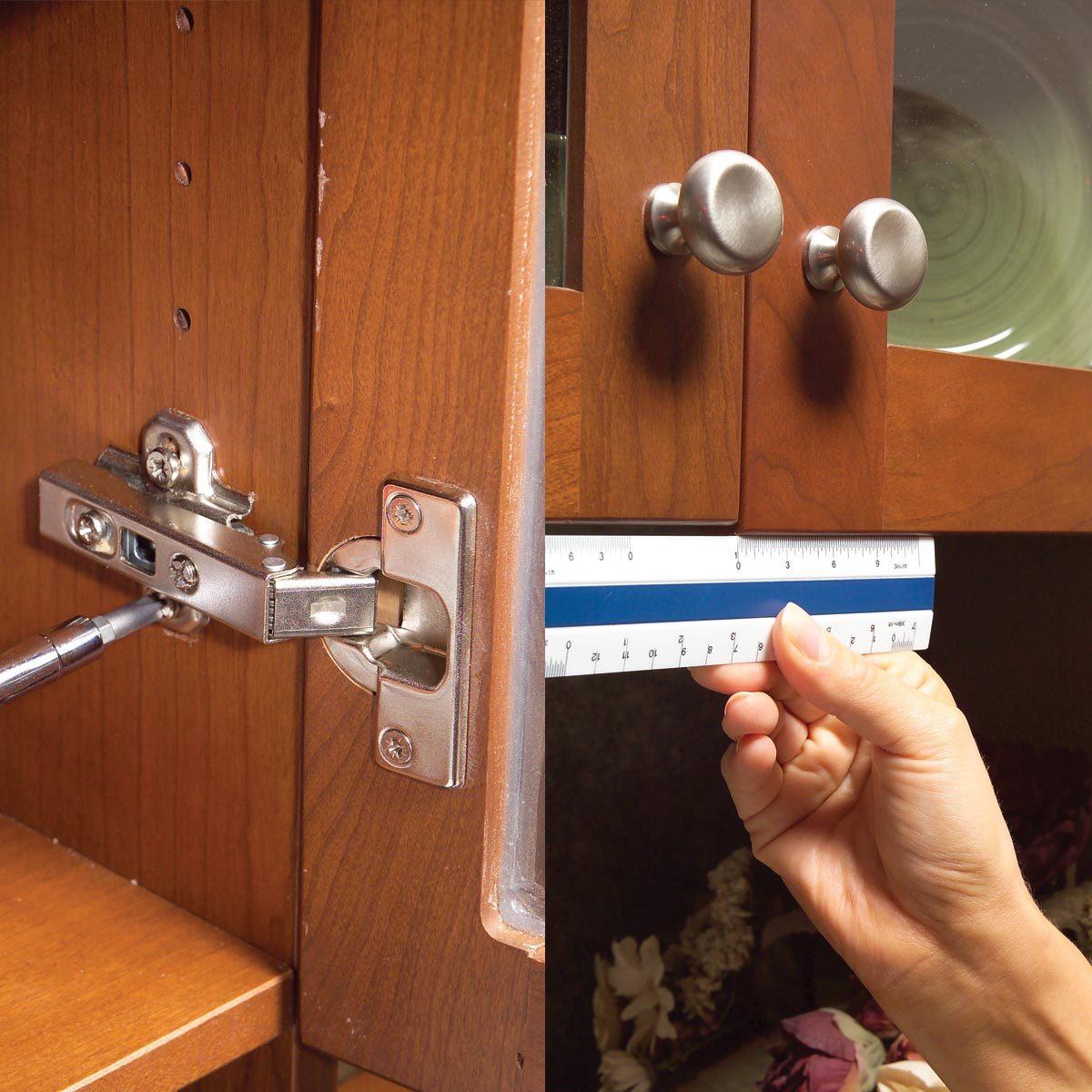 Adjust Hinges on Misaligned Doors