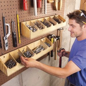 Small Workshop Storage Solutions