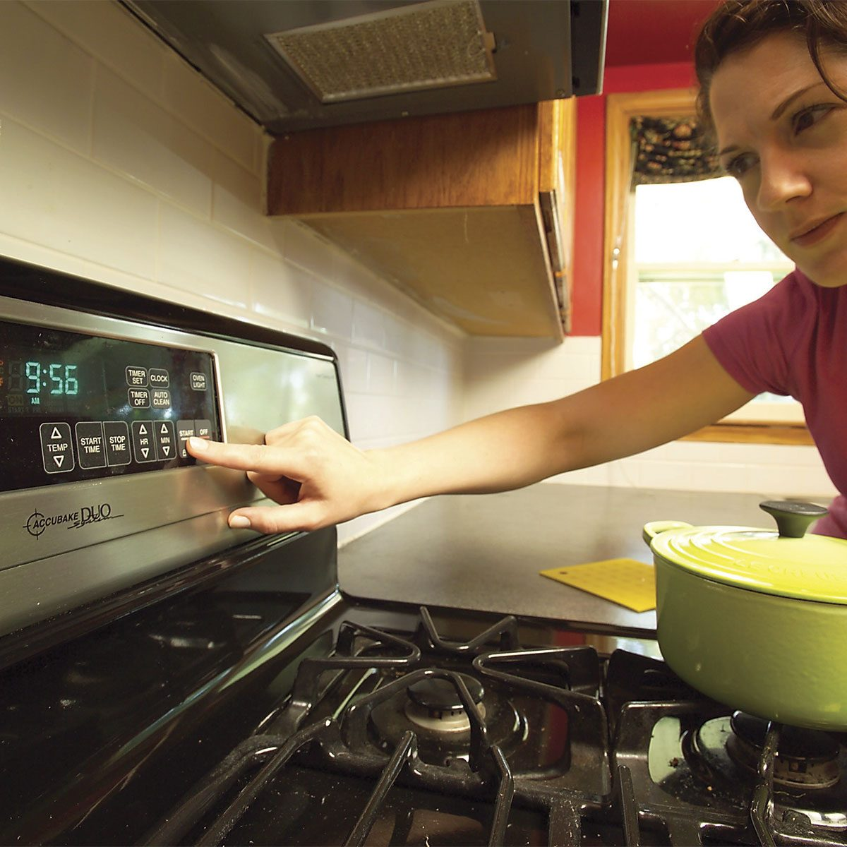 Oven Won't Heat? Check the Clock