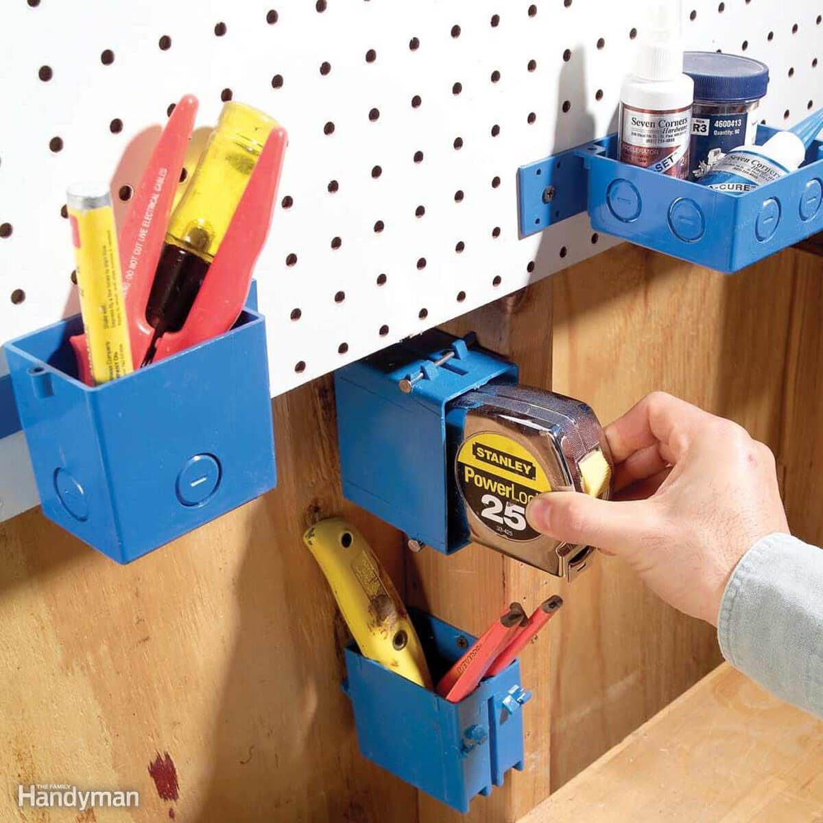 Easy-Mount Mini Bins