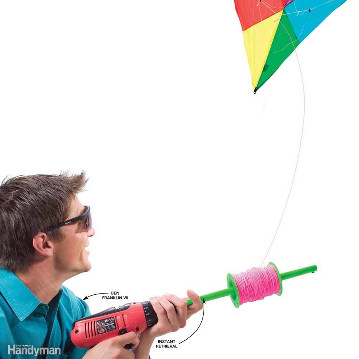 Battery-Powered Kite Retriever