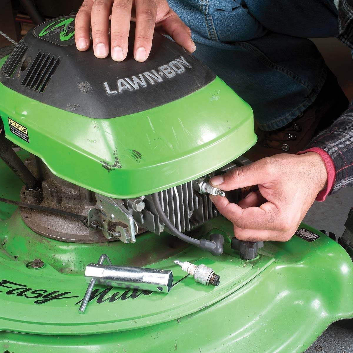 Tune Up the Lawn Mower