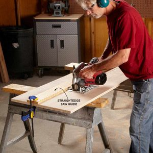 Circular Saw Cutting Guide