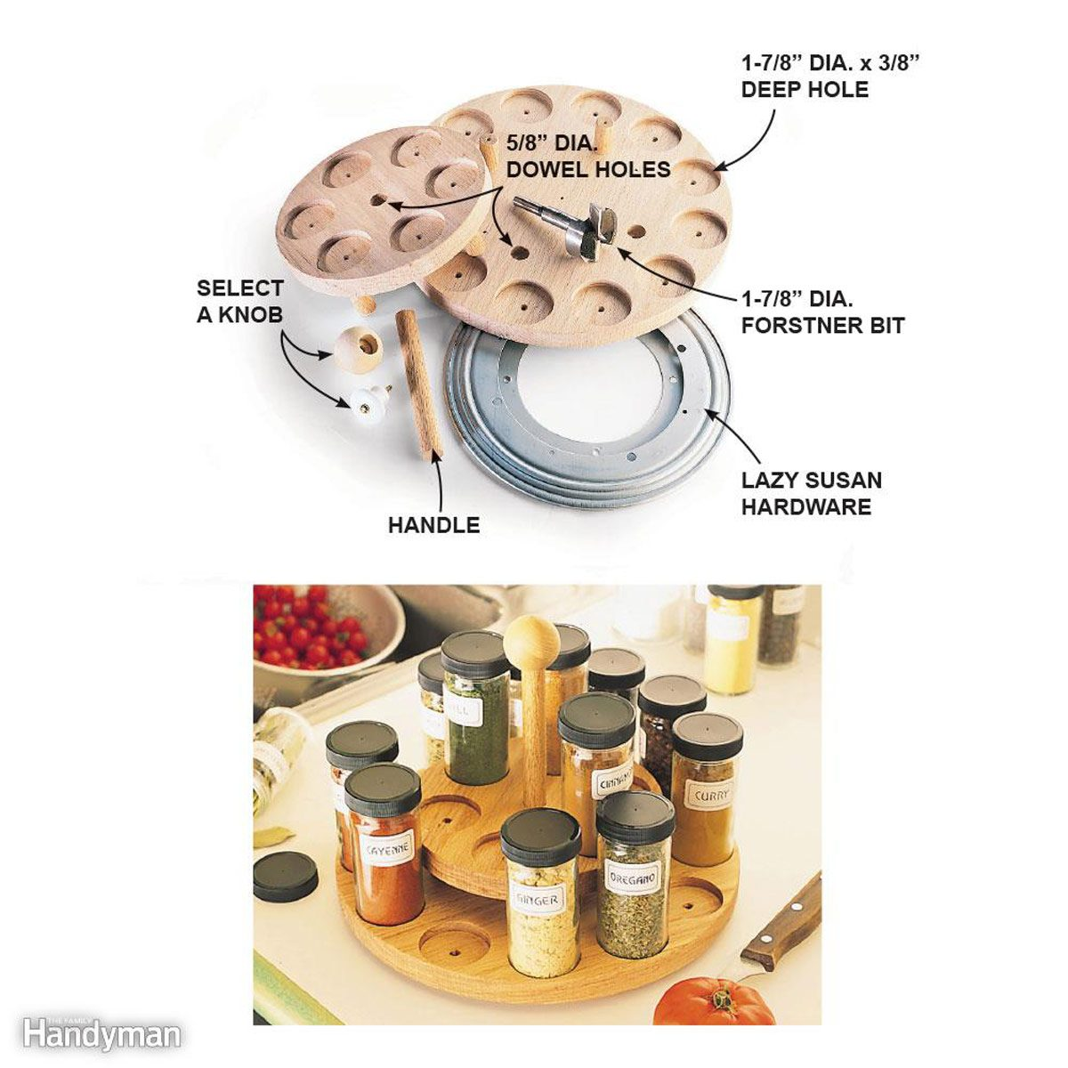 Season's Greetings Spice Rack
