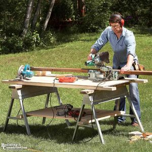 Secrets of the Sawhorse: 7 Tips and Tricks