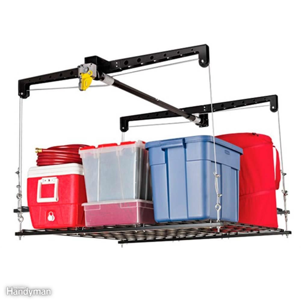 No Ladders Needed with a Garage Ceiling Storage Lift