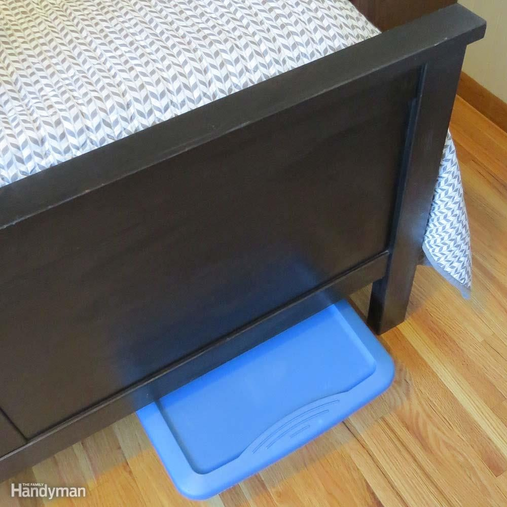 Clothing Storage Solutions: Utilize Unseen Floor Space