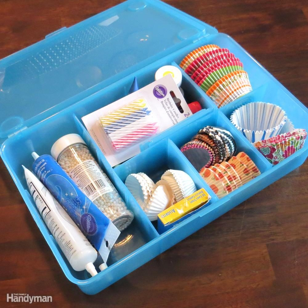 Use Tool Organizers for Small Stuff