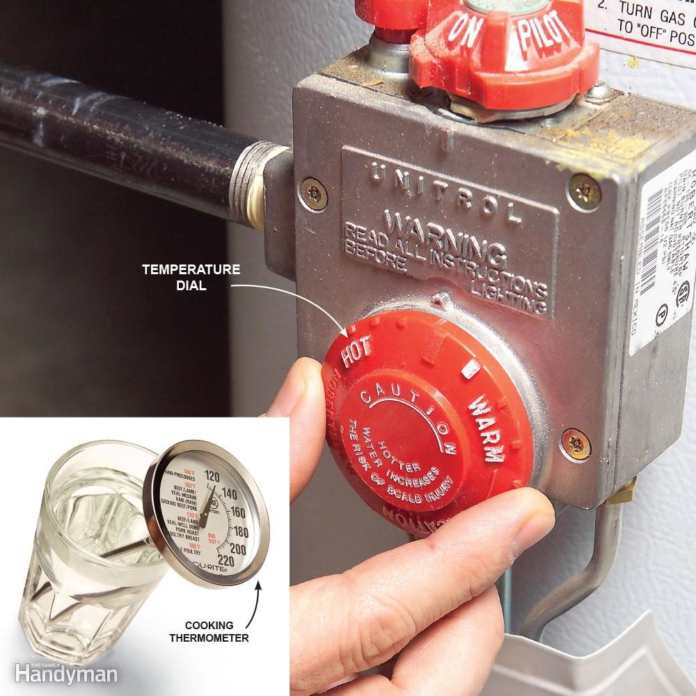 Avoid a Scalding by Setting Your Water Heater to 120 Degrees