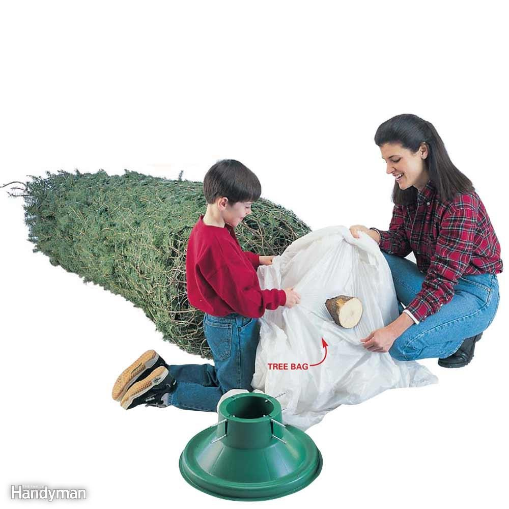 Buy a Tree Bag When You Get Your Tree