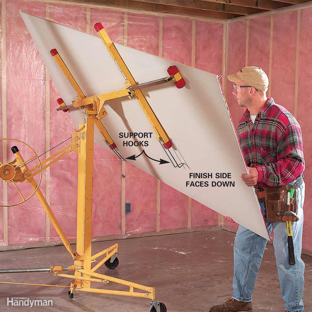 Rent a Drywall Lift for Ceiling Work