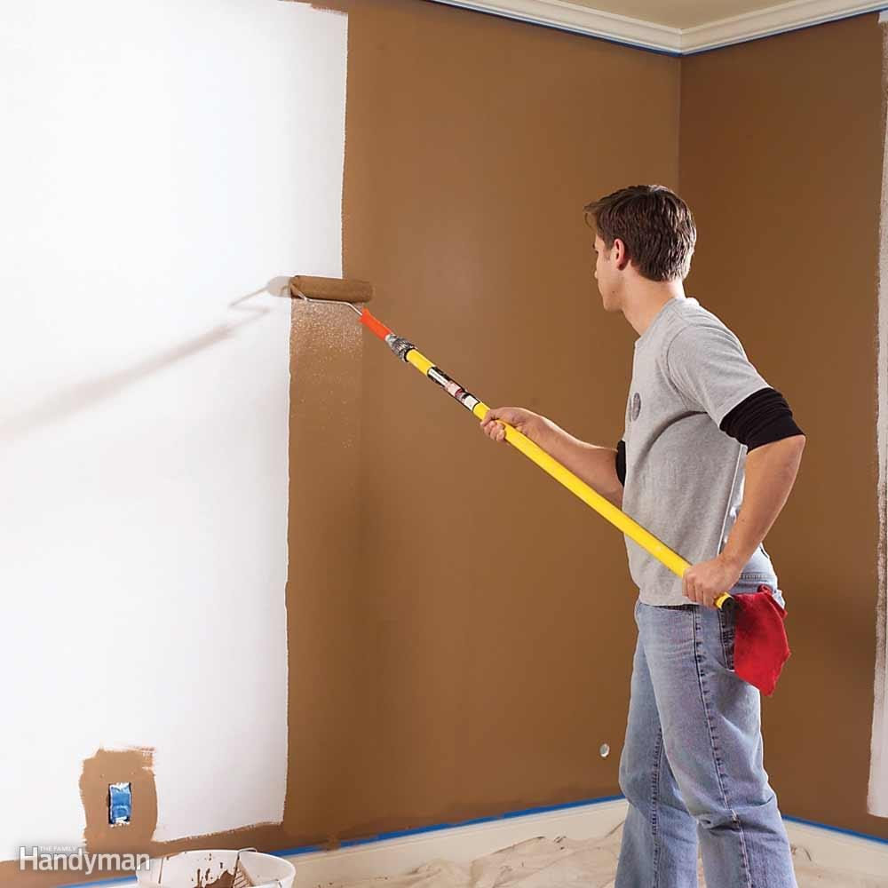 To Avoid Lap Marks when Wall Painting