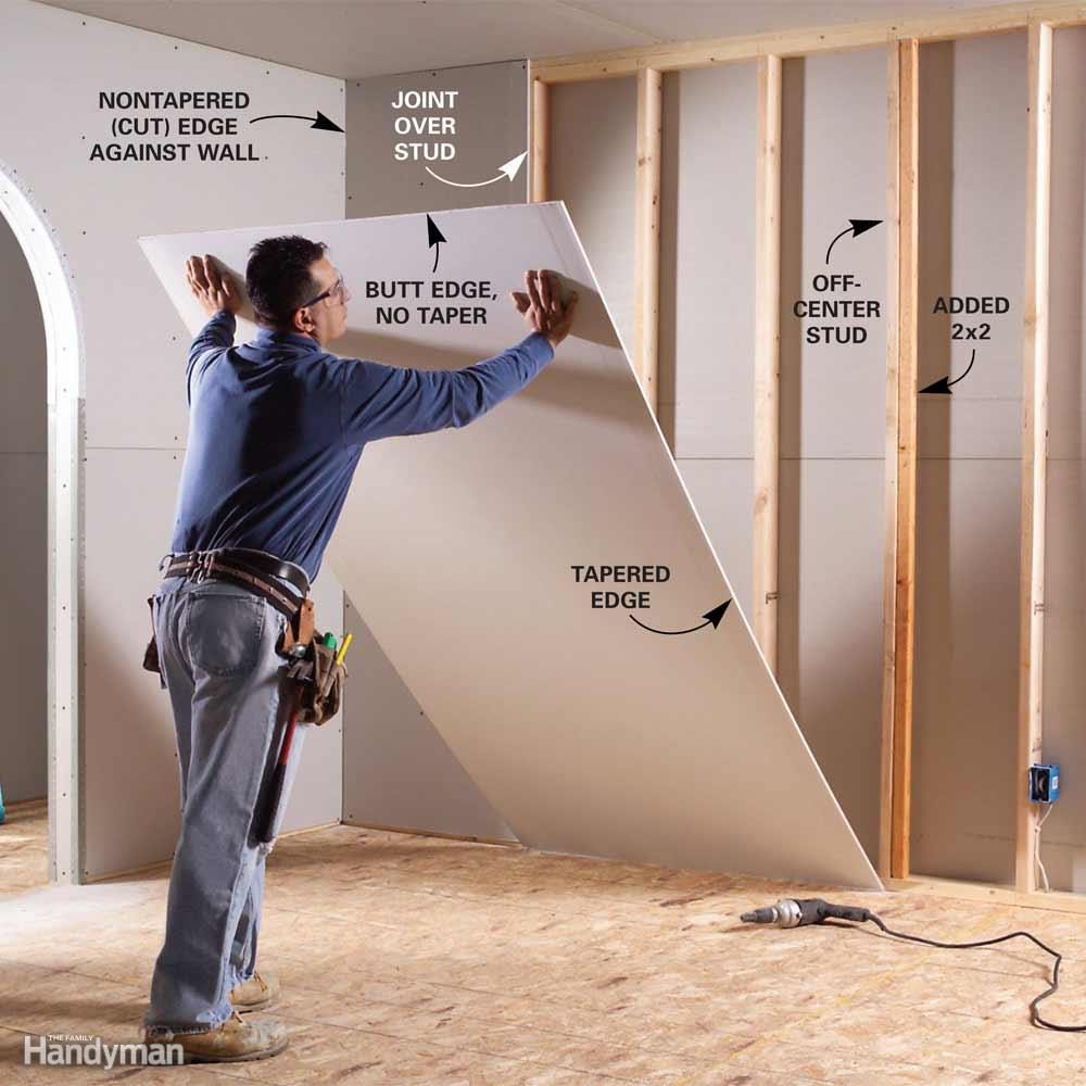 Eliminate as Many Drywall Butt Joints as You Can