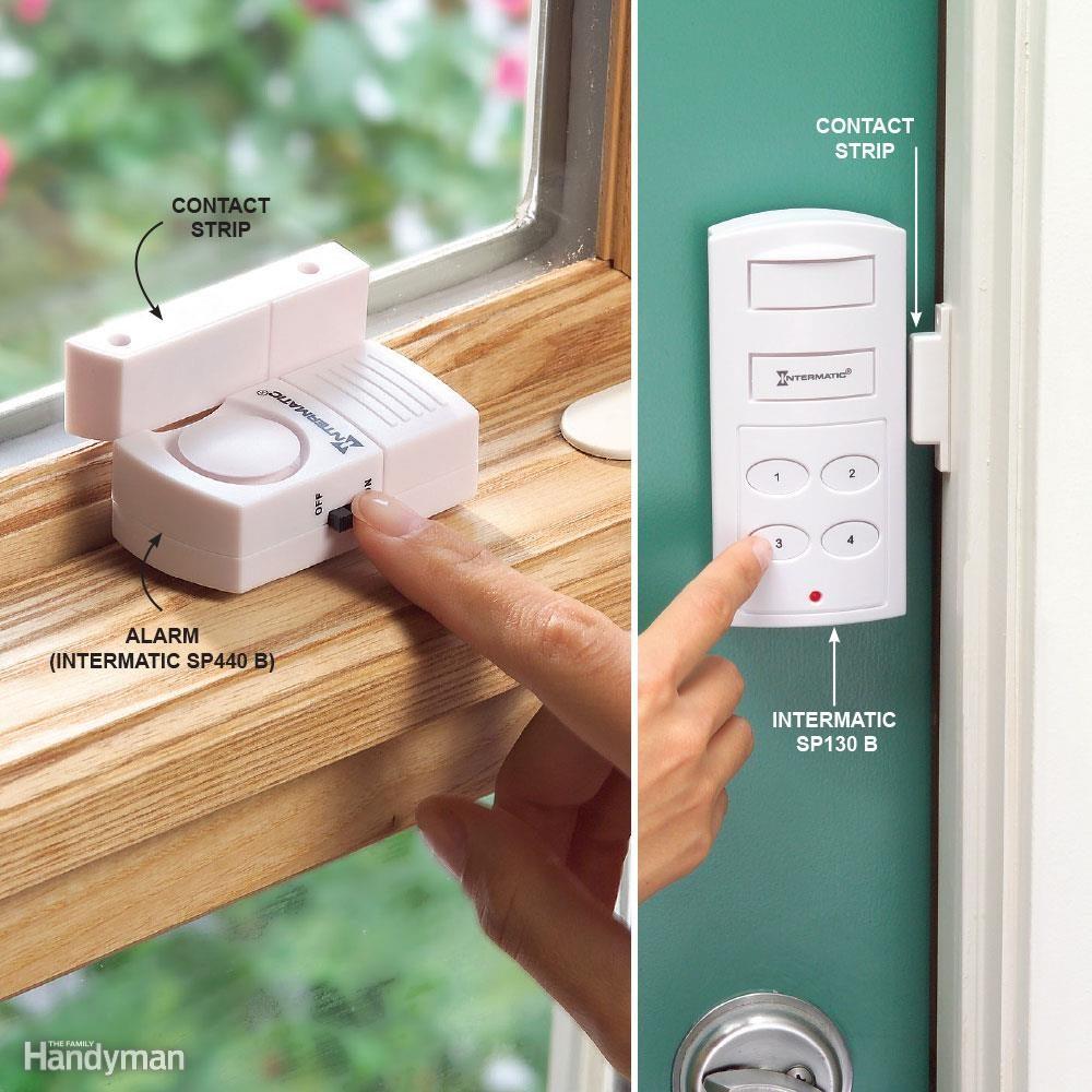 Add Inexpensive Door and Window Alarms