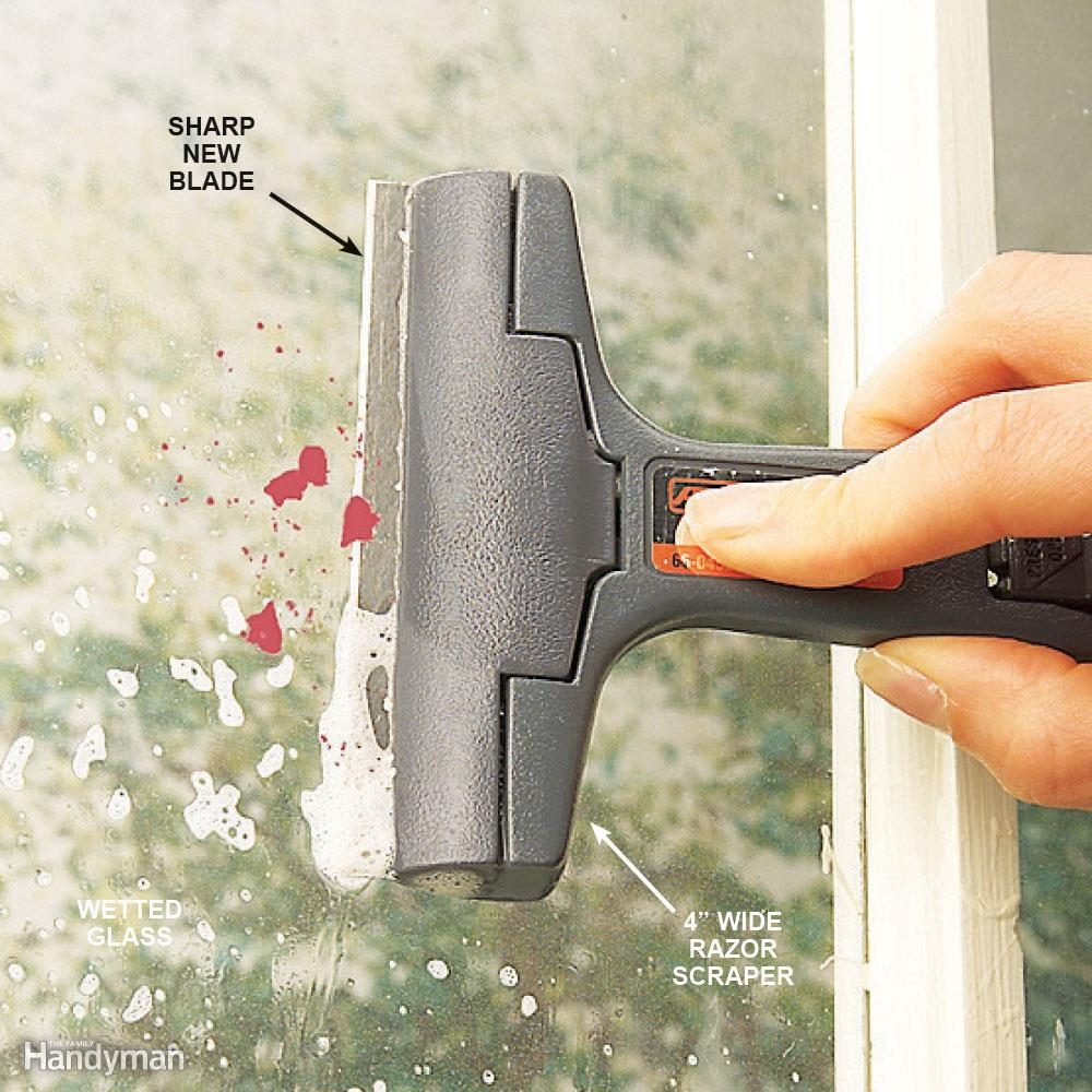 Tips for hard-to-clean windows