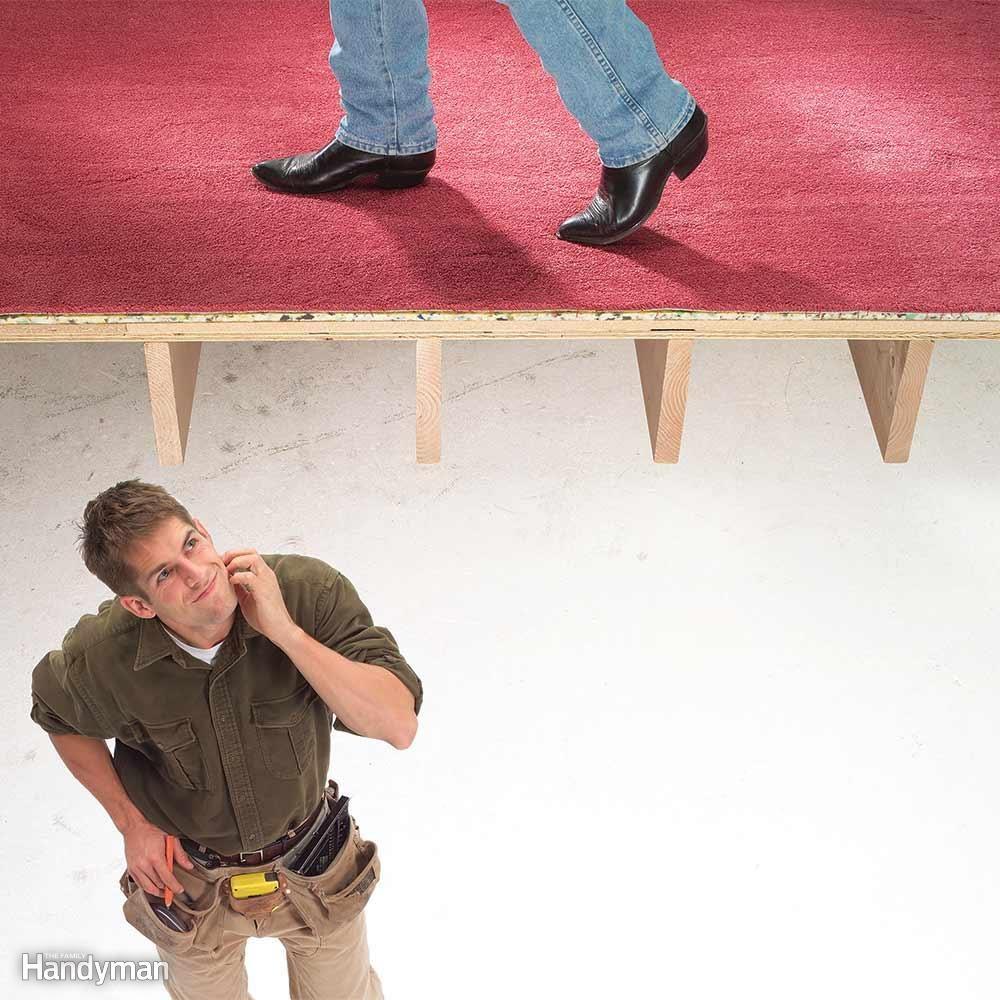 Creaking Floors and Stairs