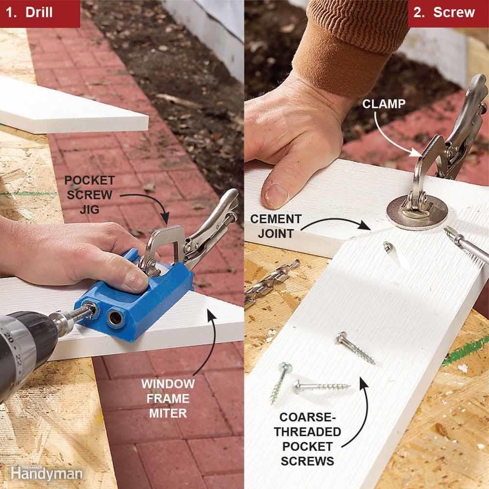 Use a Pocket Hole Jig for Corners