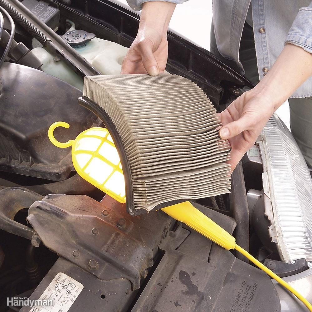 Replace Engine Air Filter