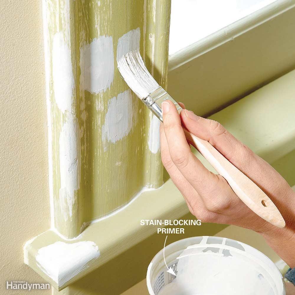 Don't be afraid to paint wood trim