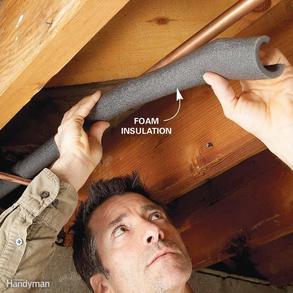 Insulate Pipes