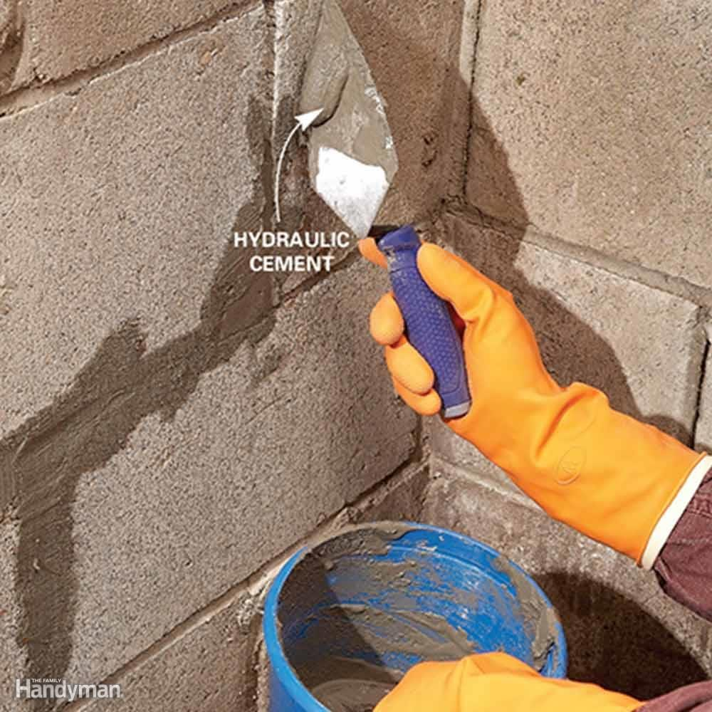 Plug Holes and Cracks in the Foundation