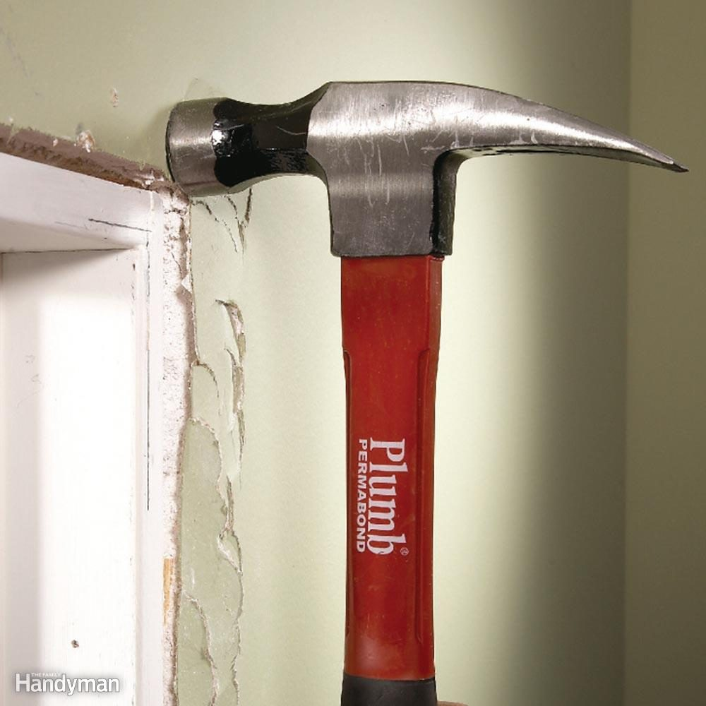 Smash Protruding Drywall