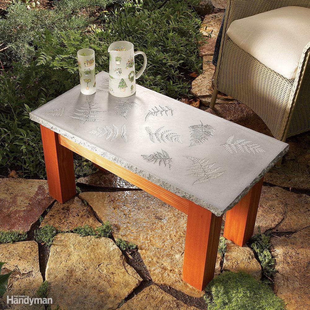 Polished Concrete Table