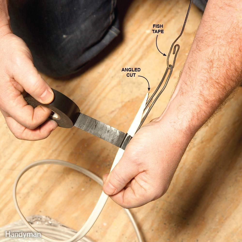No-Snag Fish Tape Connections