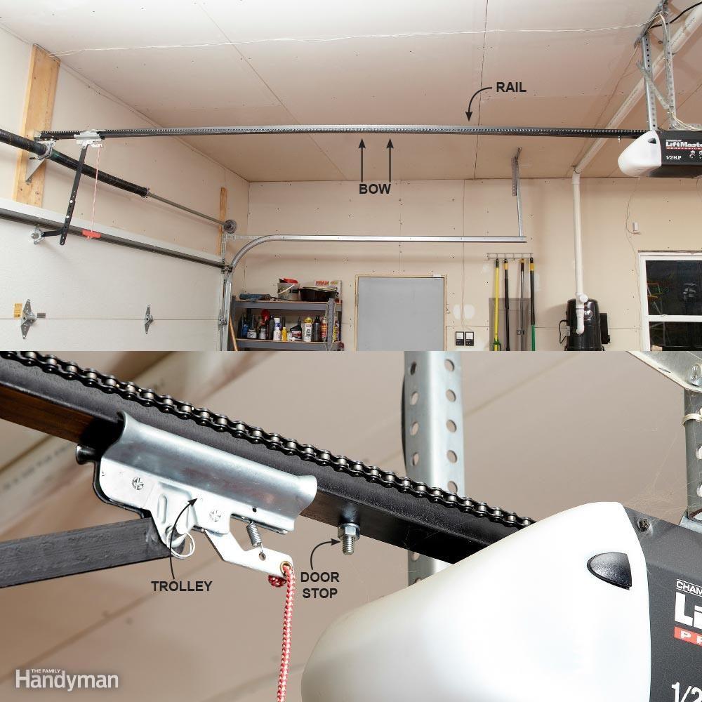 Garage Door Won't Close: Adjust the Travel of the Door