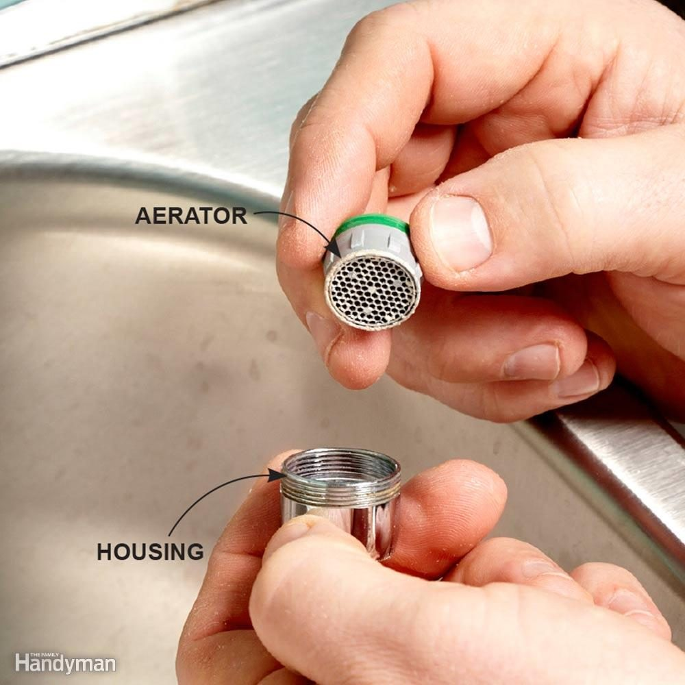 Restore Free Flow to a Faucet