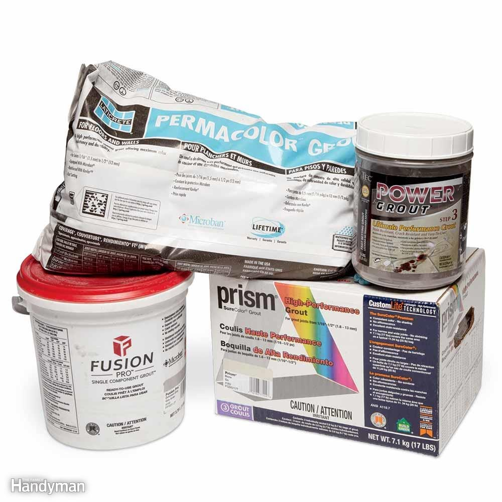 Finish Your Job With Premium Grout