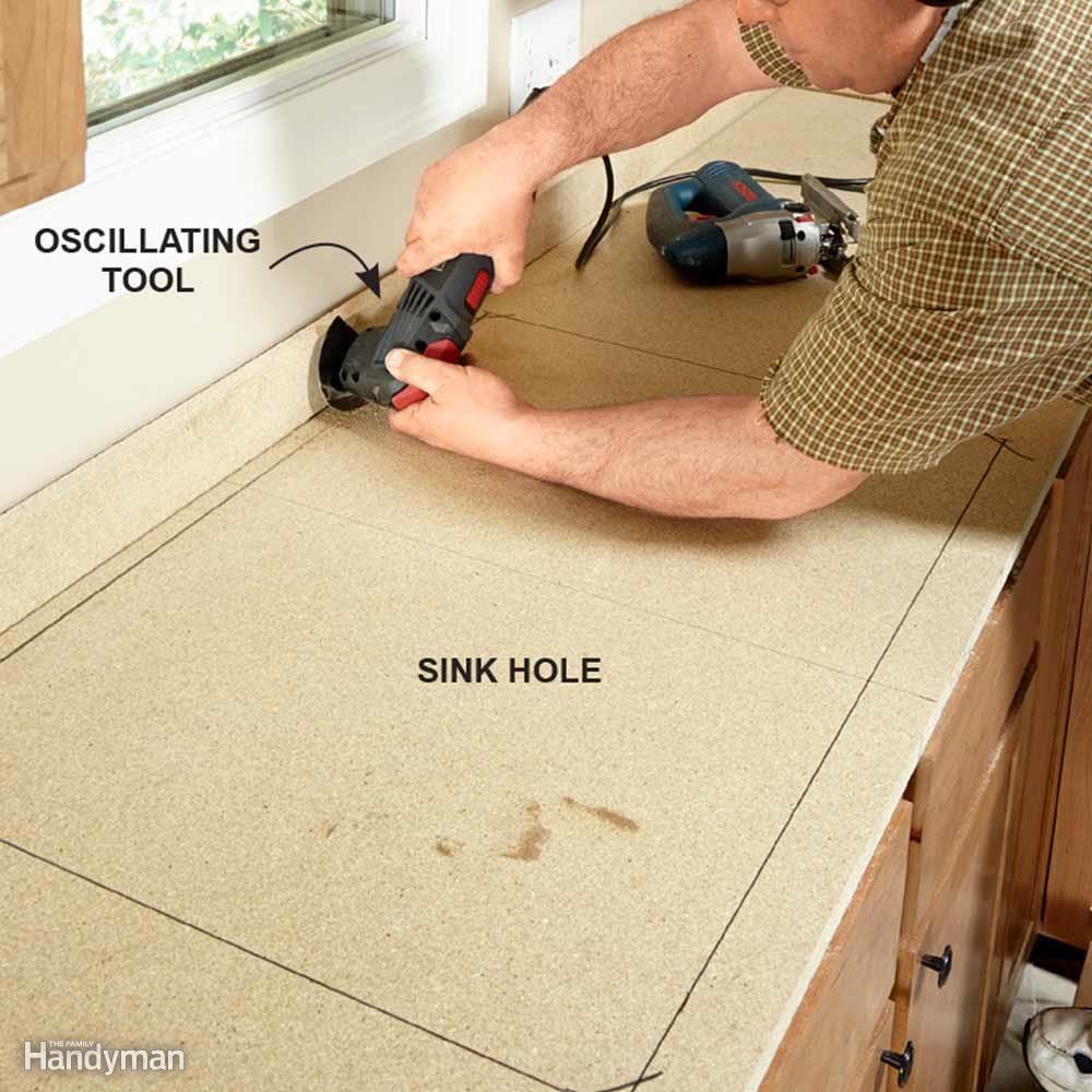 Verify Sink Size