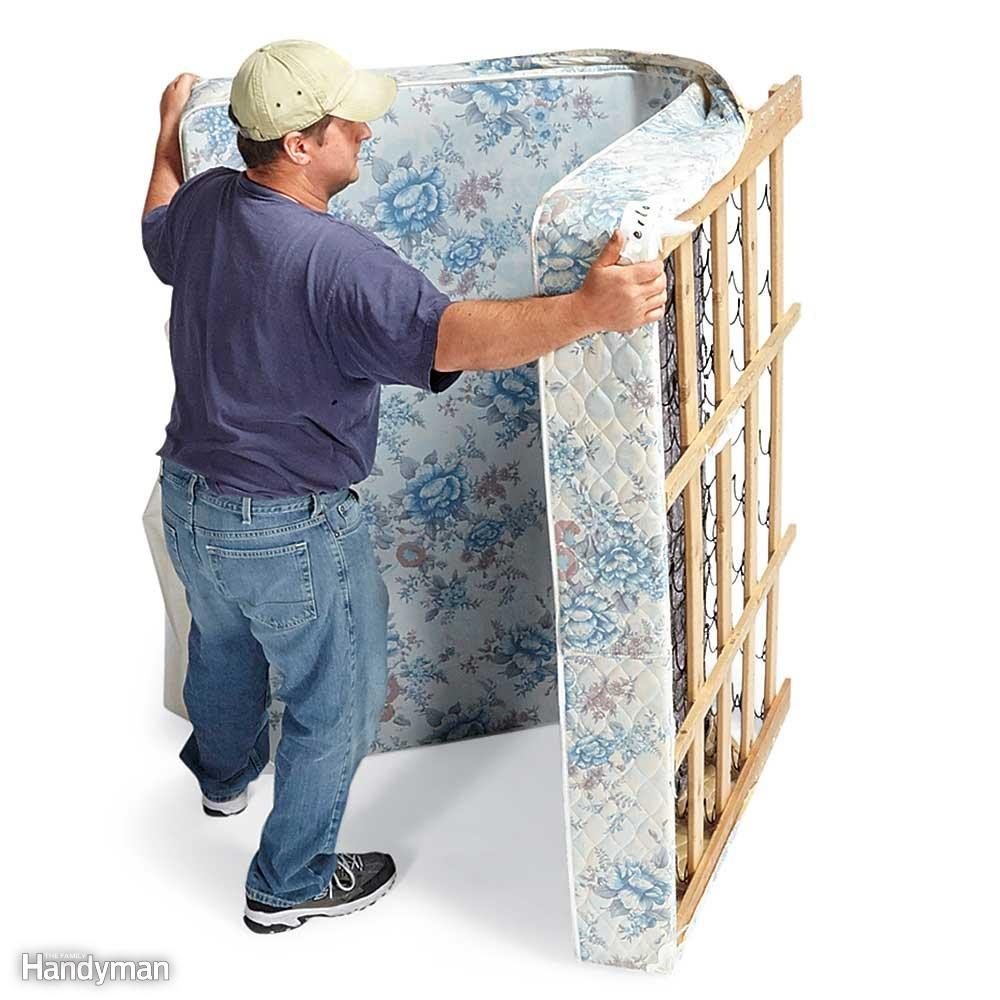 Cut and Fold a Box Spring
