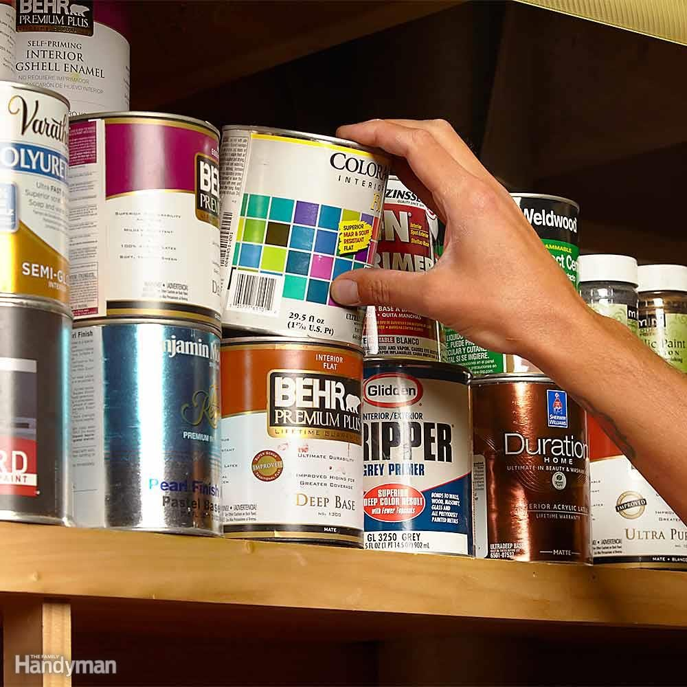 Which Paint Can Contains the Gold?