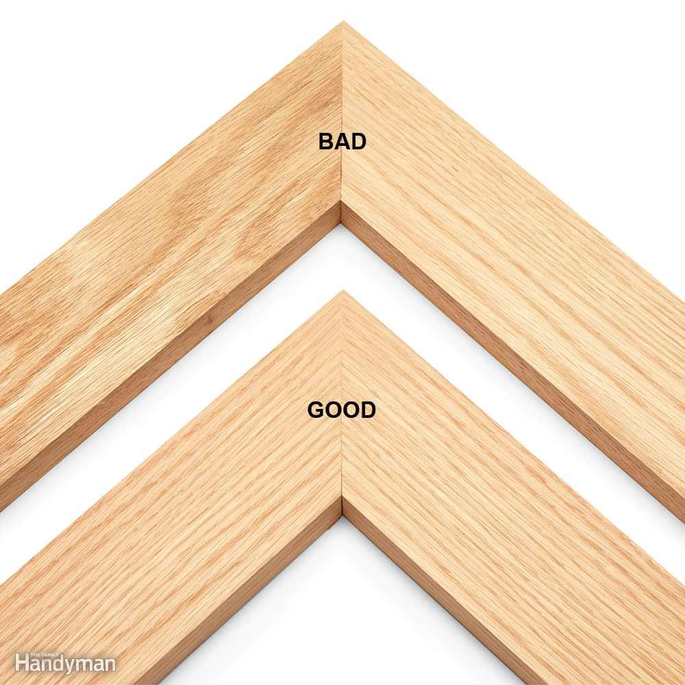Miters: Match Wood Grain