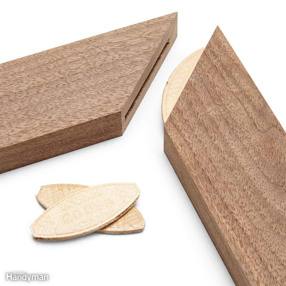 Miters: Align With Biscuits
