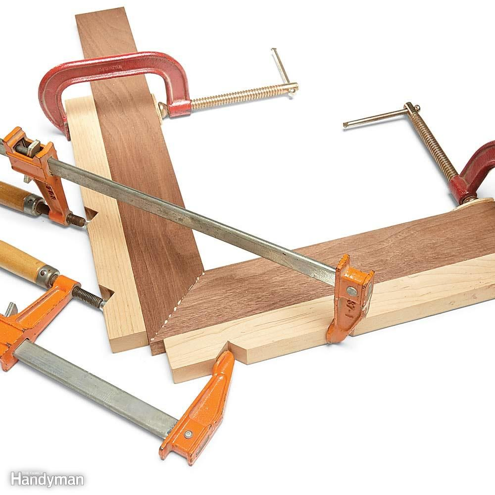 Miters: Make Your Own Corner Clamps