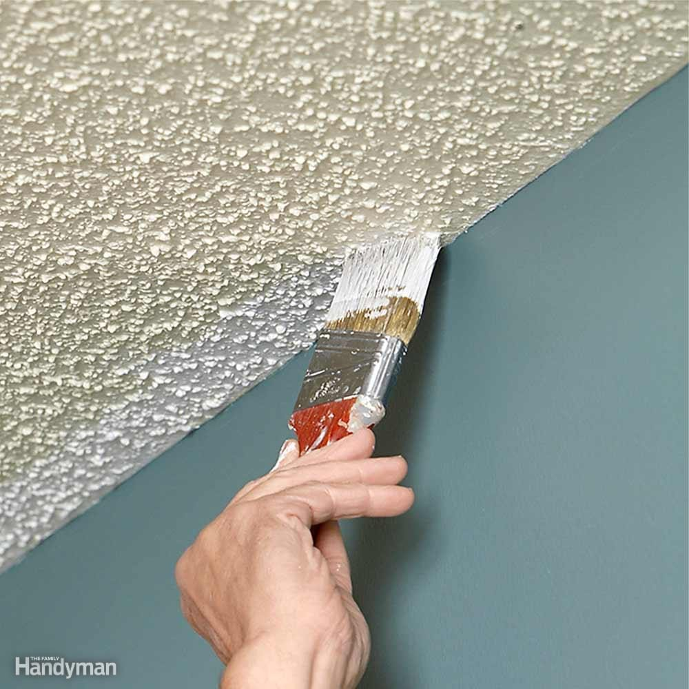 Rules for Painting Ceilings: Cut in Before You Roll
