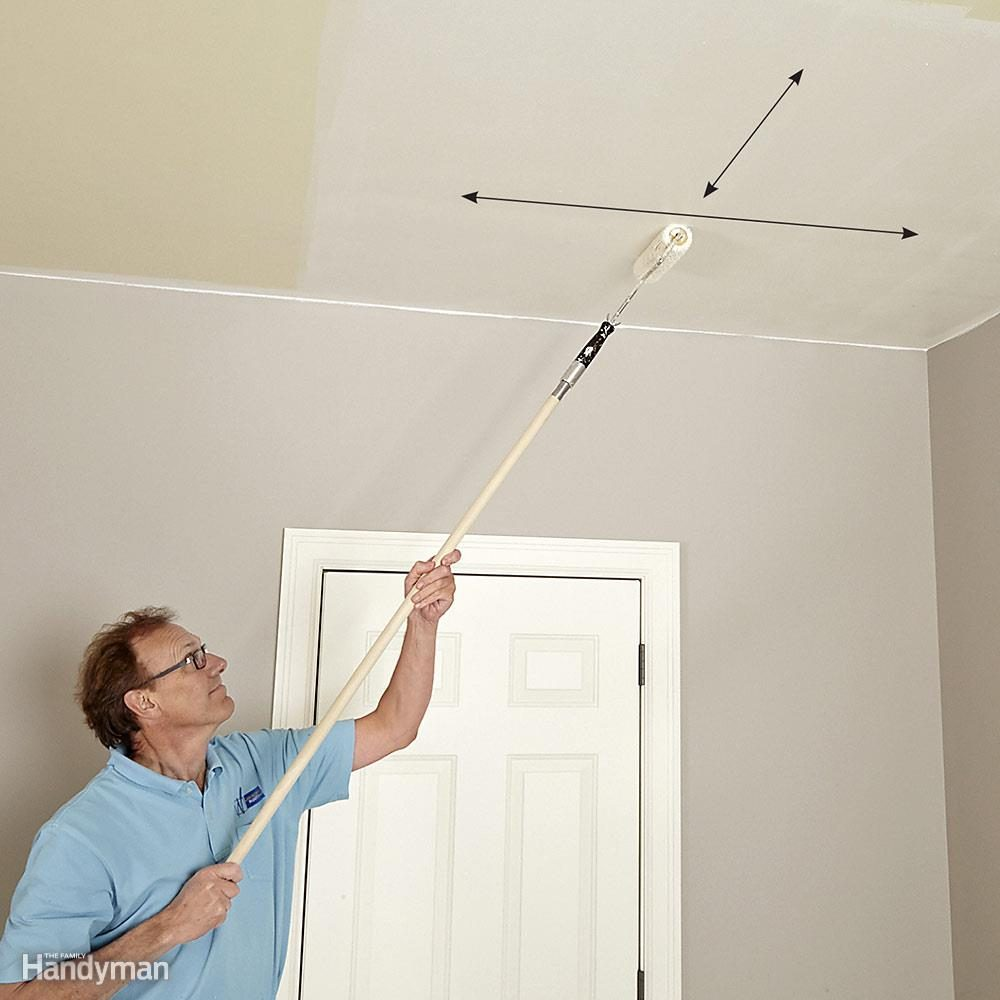 Rules for Painting Ceilings: Roll Both Directions