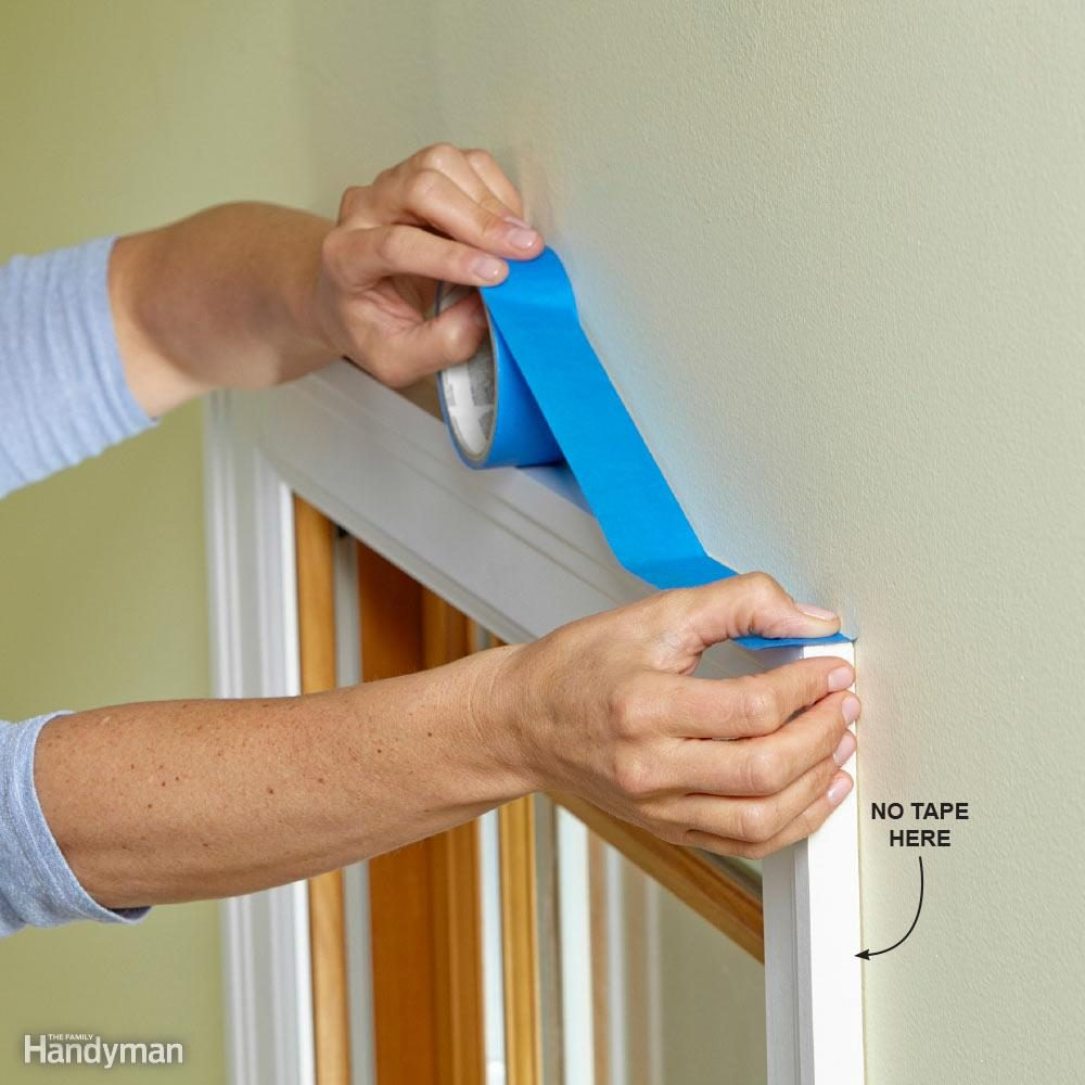 Mask Only the Tops: How to Paint Trim Without Tape