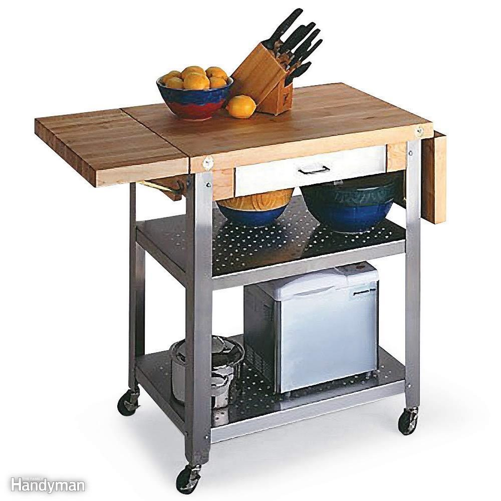 Add a Rolling Cart to Your Kitchen
