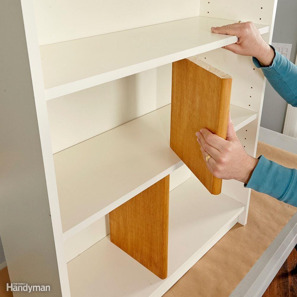 Support Sagging Shelves