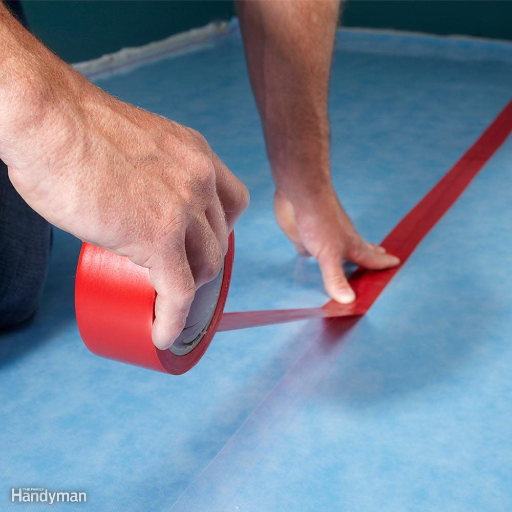Don't Forget the Underlayment