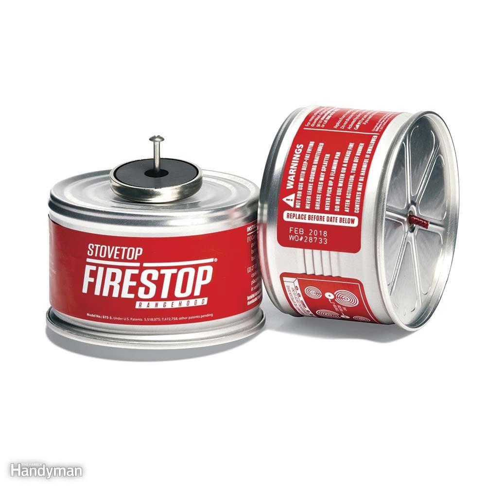 Install Stovetop Fire Suppressors