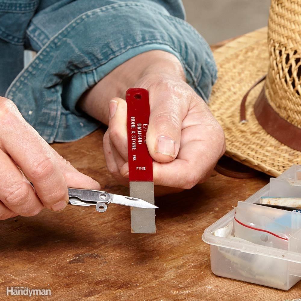 Sharpener for Fishing Gear