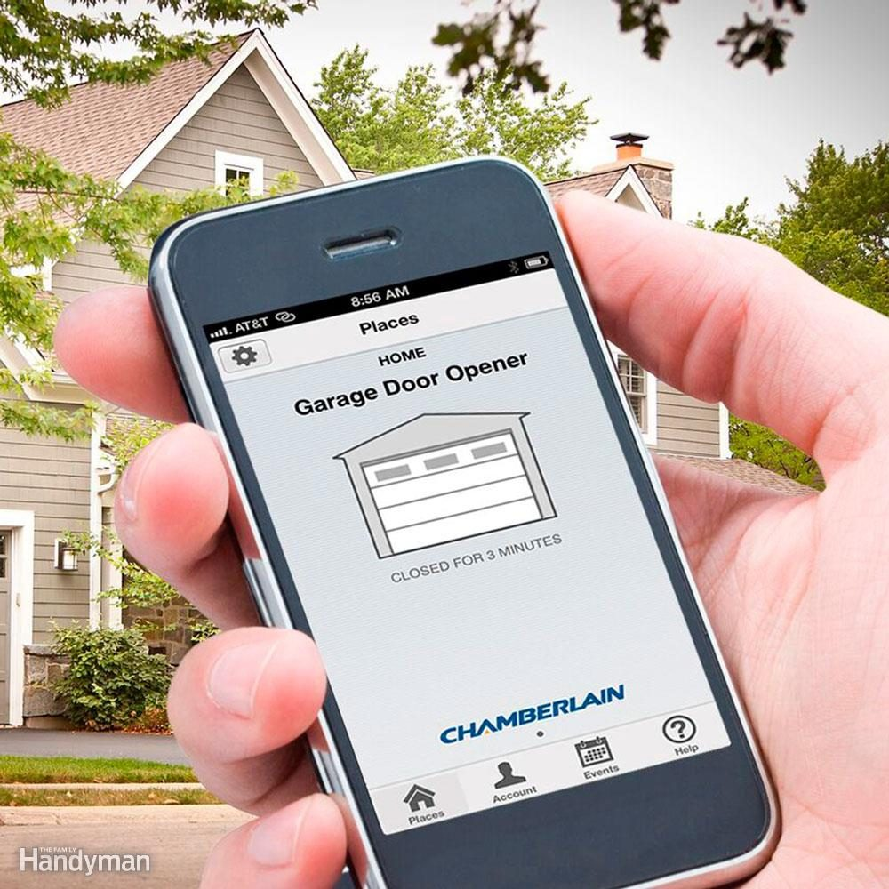Smartphone-friendly Garage Door Opener: Chamberlain HD950WF