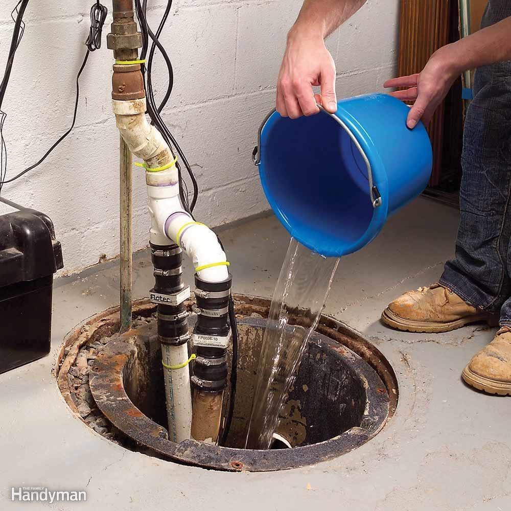Install a Sump Pump