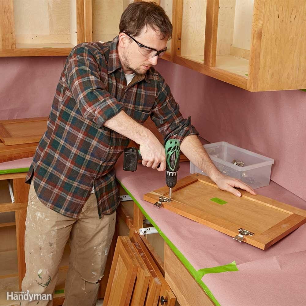 Remove Doors, Drawer Fronts and Hardware