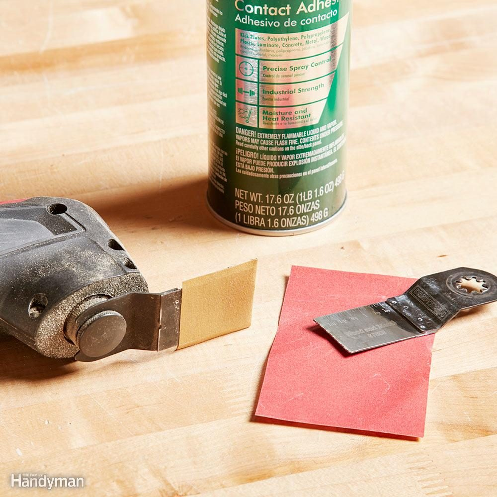 Homemade detail sander