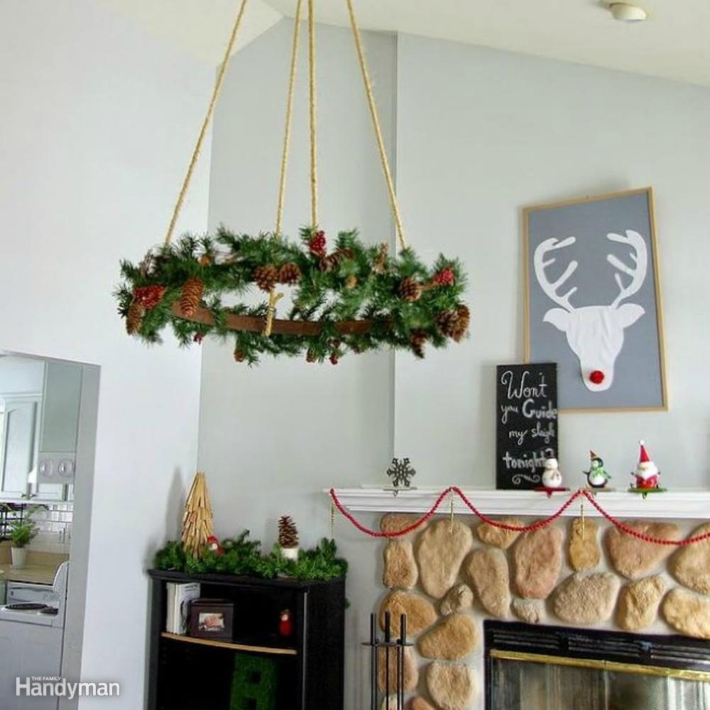 Ceiling Hung Wreath